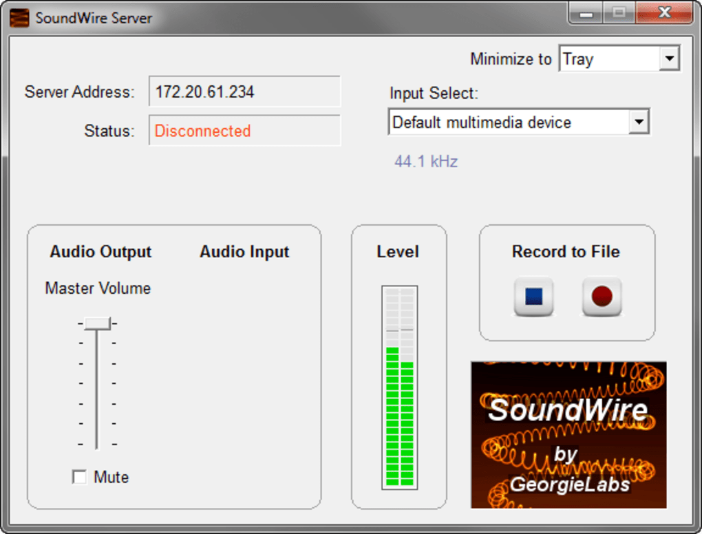 Soundwire-server aplikasi windows
