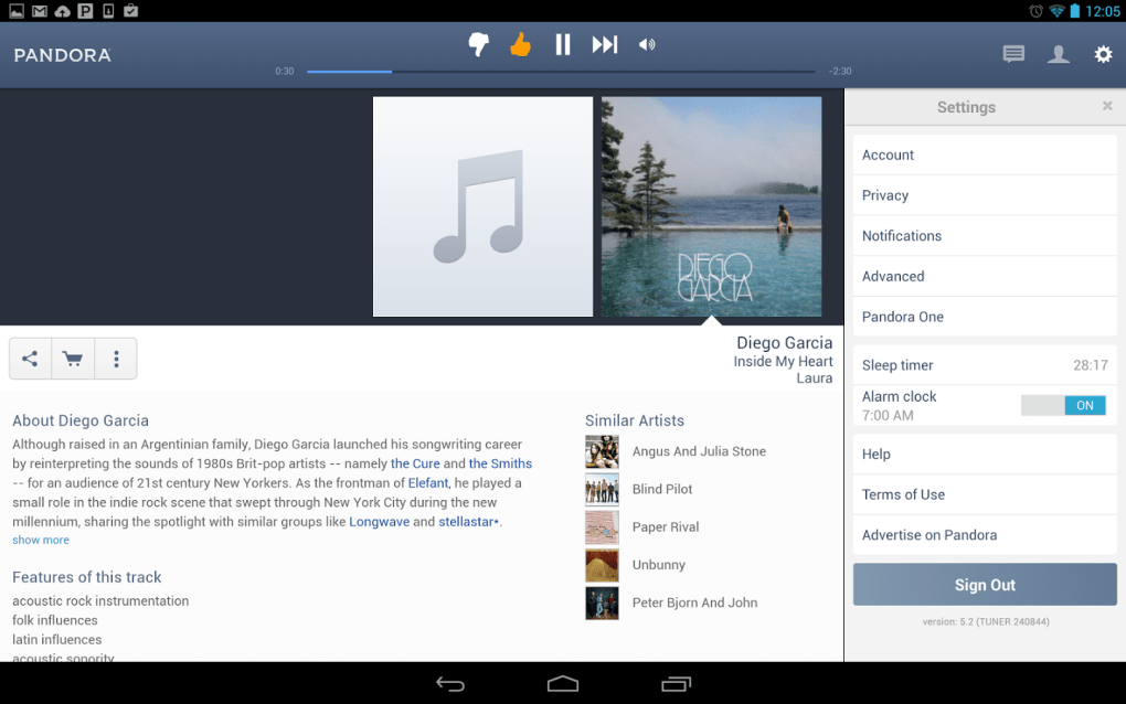 download songs from pandora android