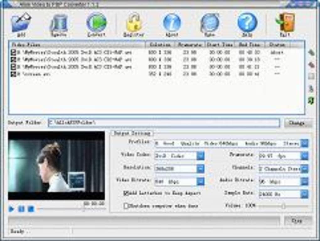 TÉLÉCHARGER ALLOK 3GP PSP MP4 IPOD VIDEO CONVERTER SOFTONIC