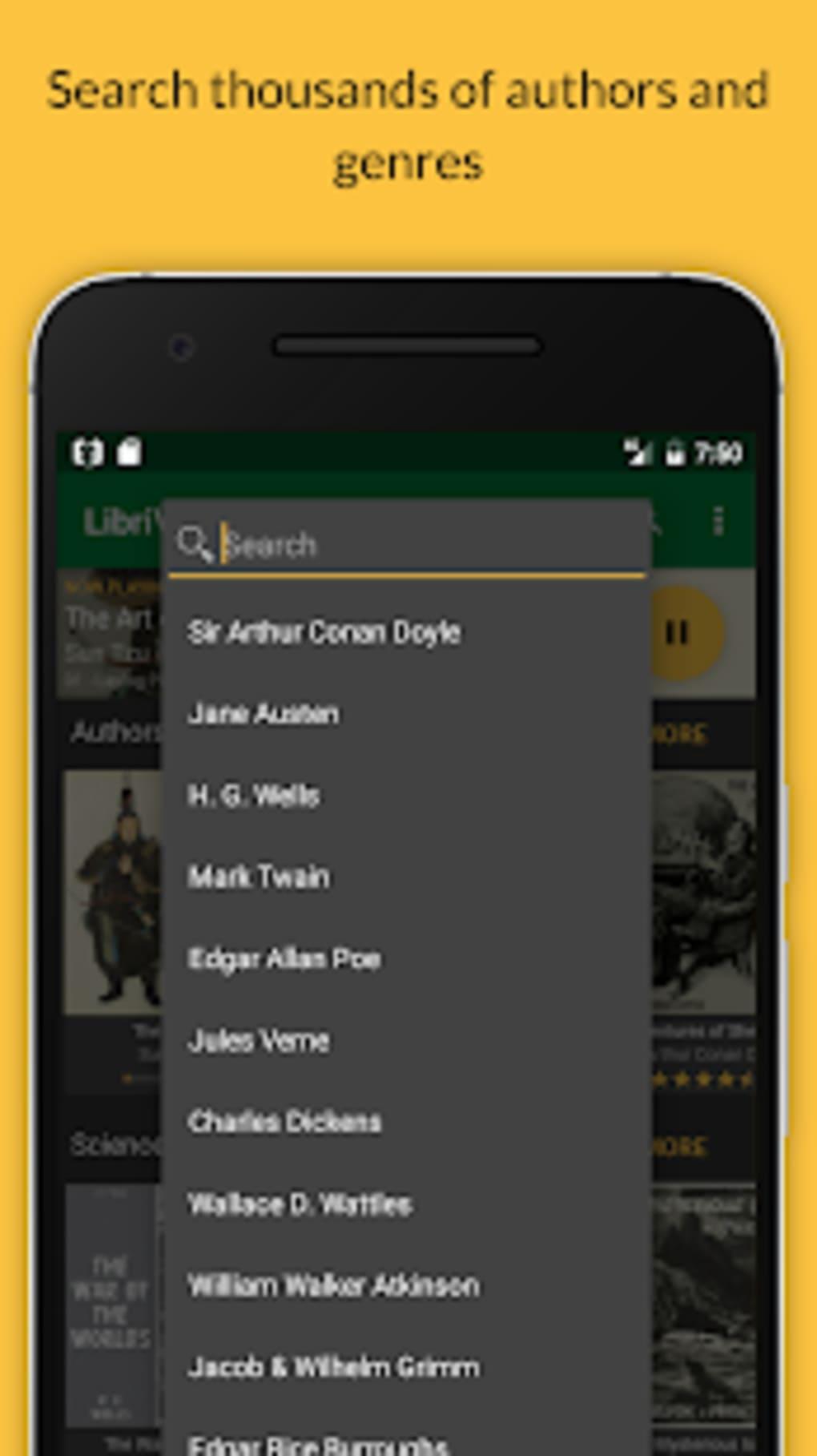 LibriVox Audio Books Supporter