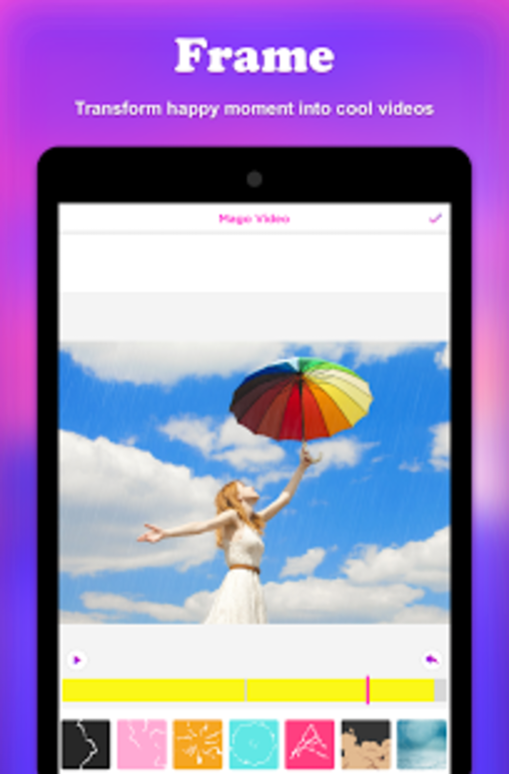Video Editor Effect Magic Video Music Magovideo Apk For Android Download