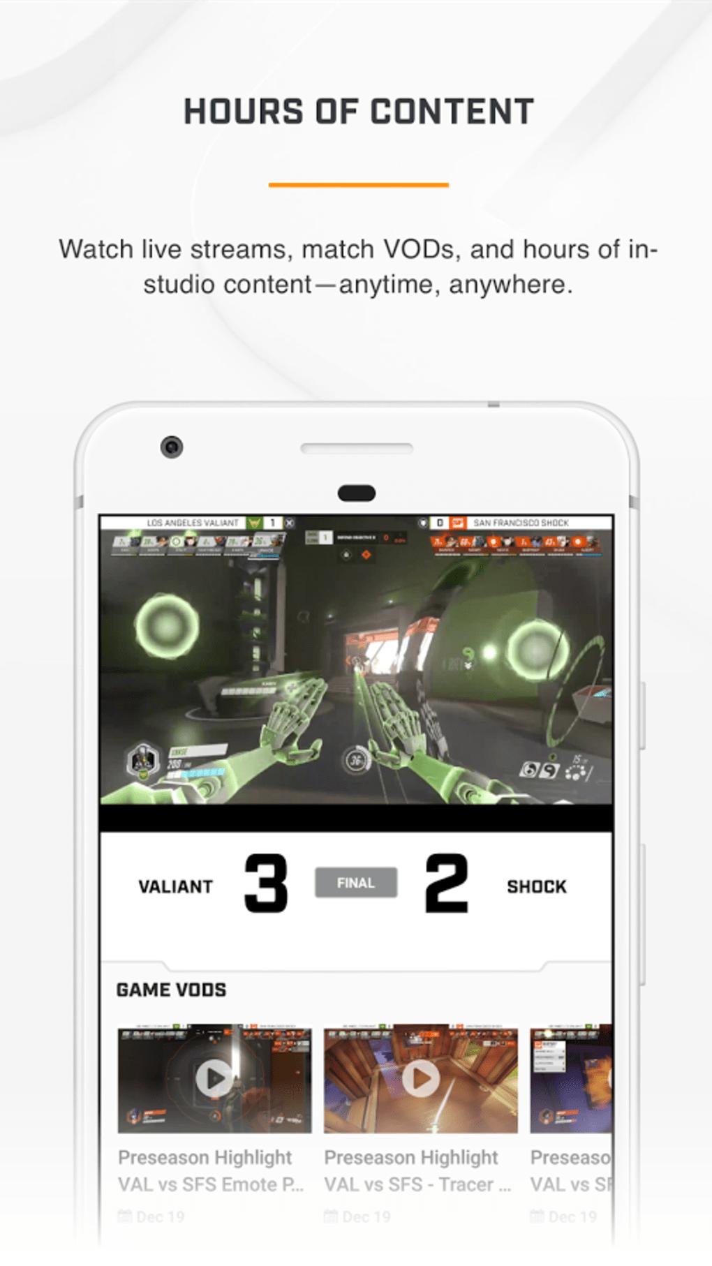 Overwatch League para Android - Descargar