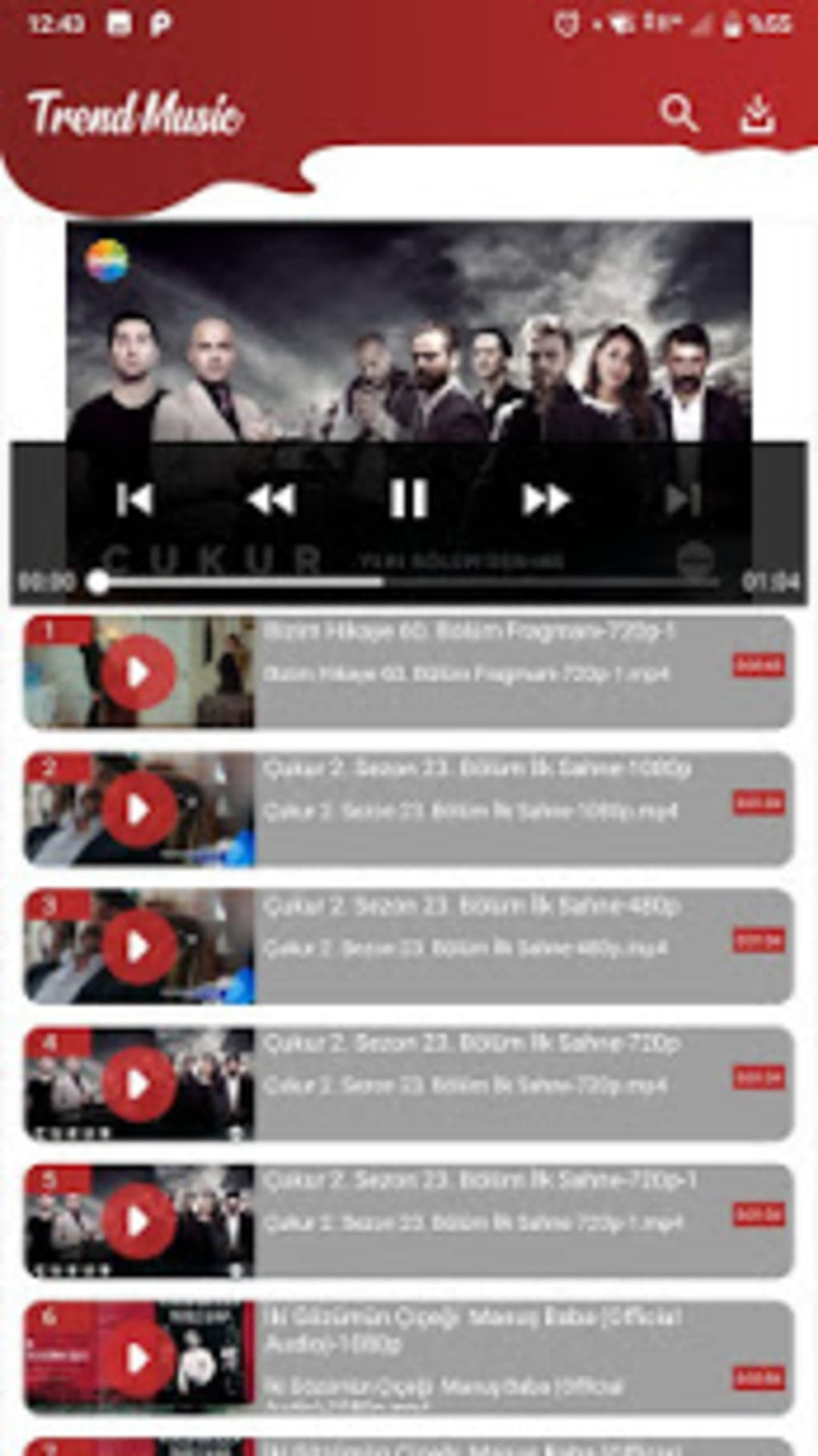 Trend Music - MP3 and Video Player Tube Downloader for Android