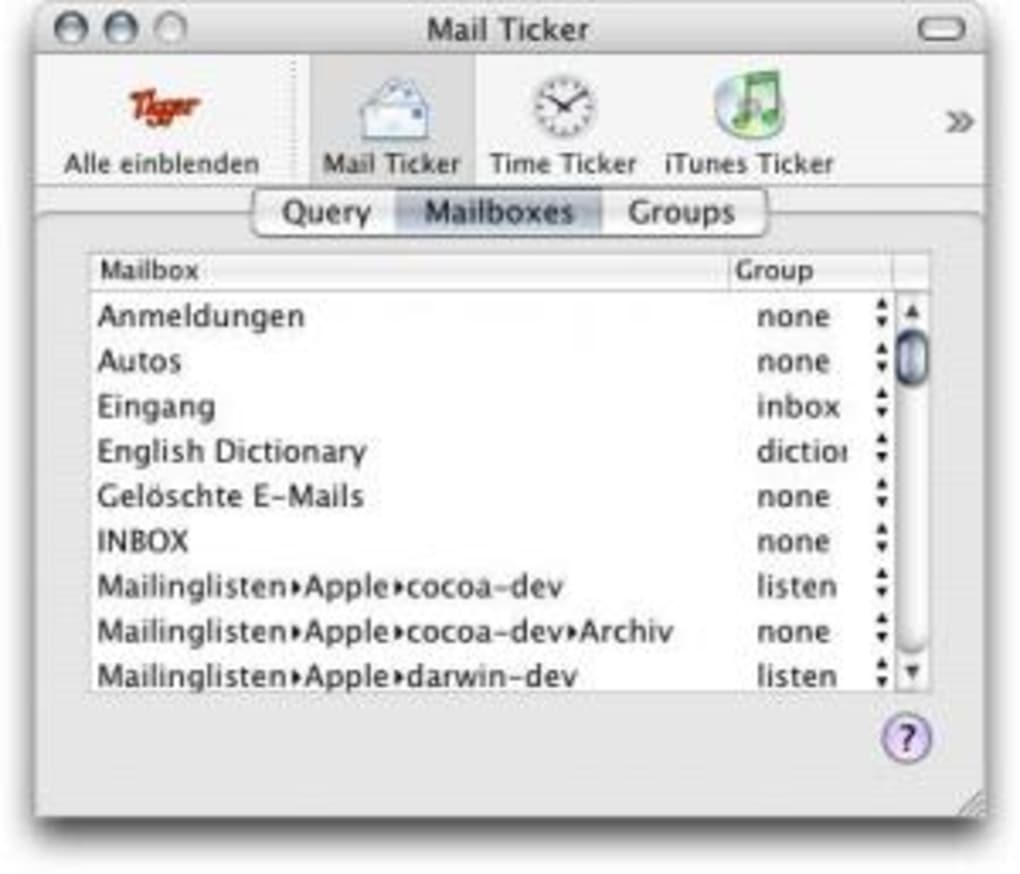 Tigger für Mac - Download