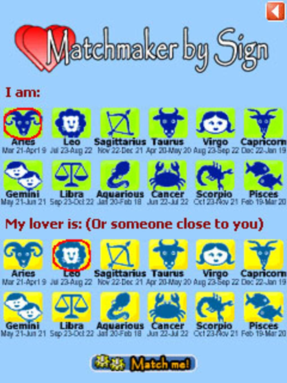 Matchmaking zodiac signs