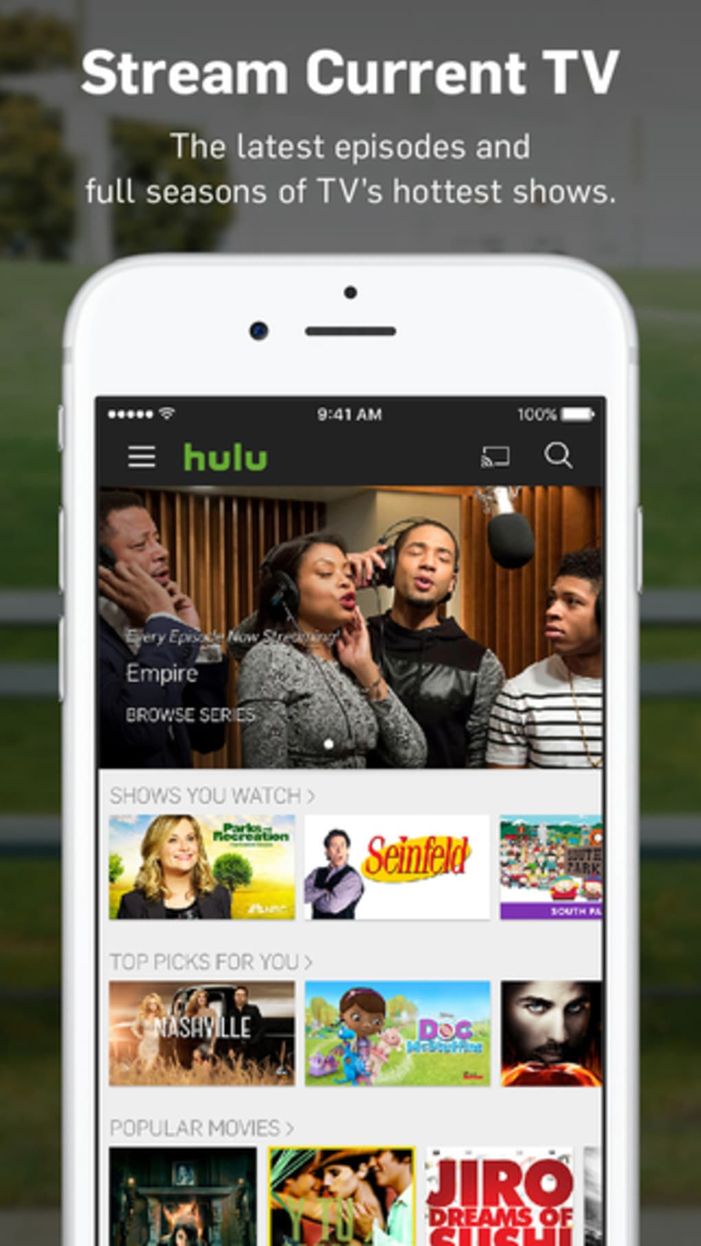 Hulu for iPhone - Download