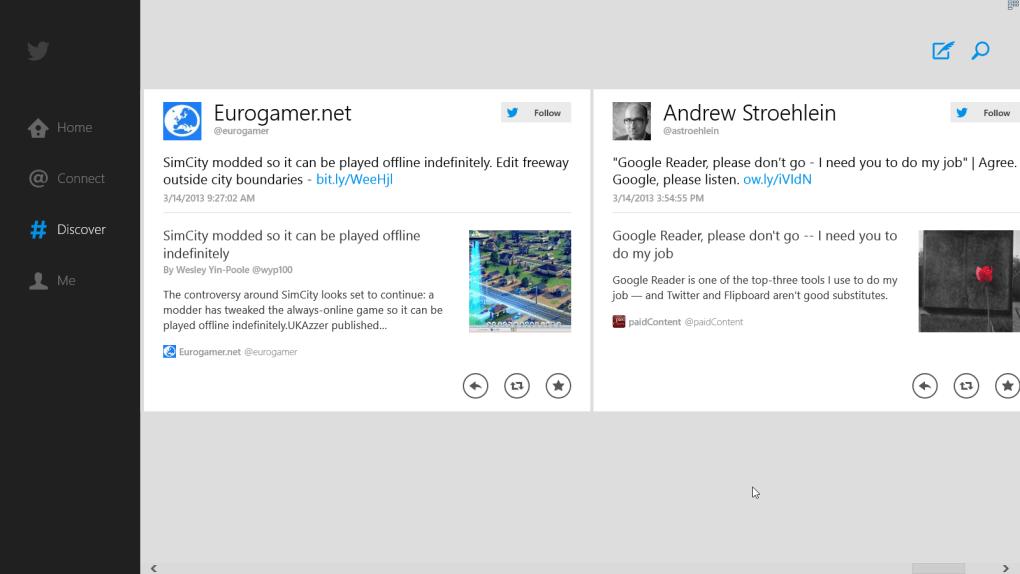 Twitter for Windows 10 (Windows) - Download