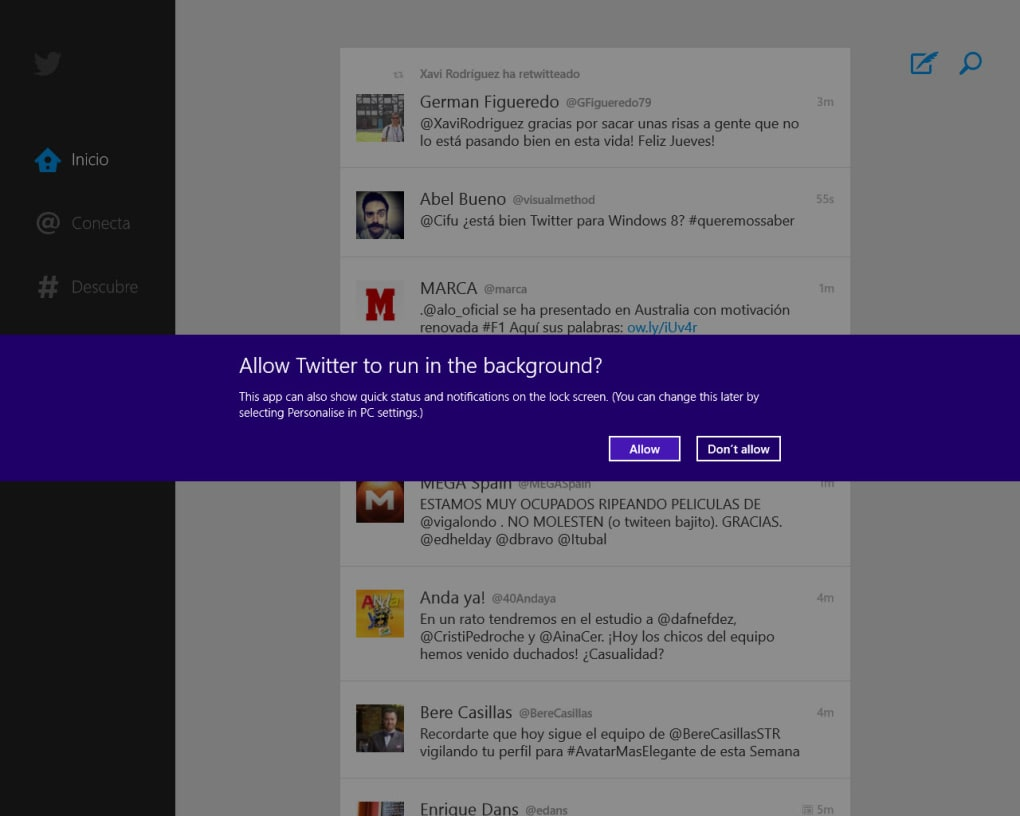 Twitter for Windows 10 (Windows) - Download
