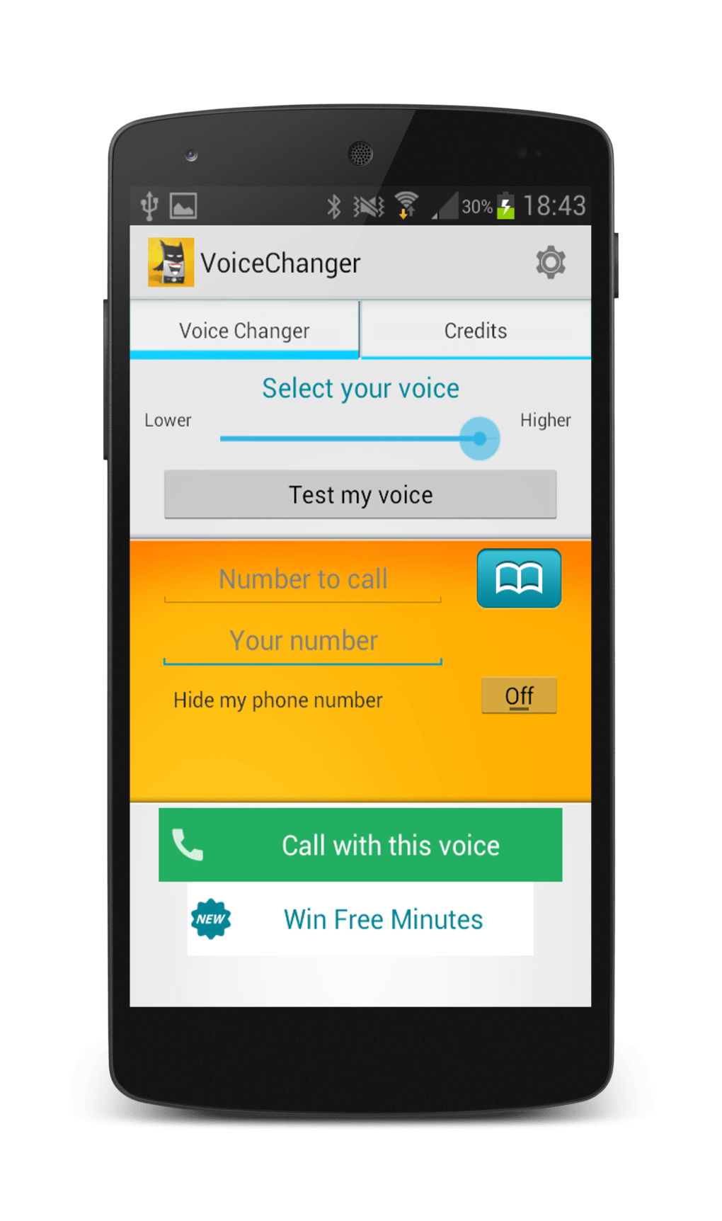 Voice Changer Allogag for Android - Download