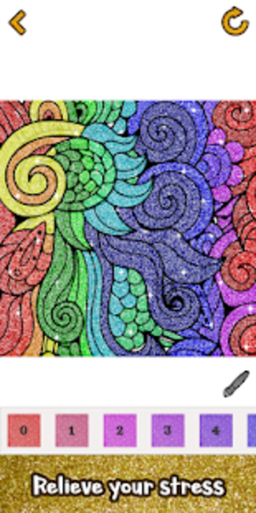 Download Adult Glitter Color By Number Book Sandbox Pages For PC ...