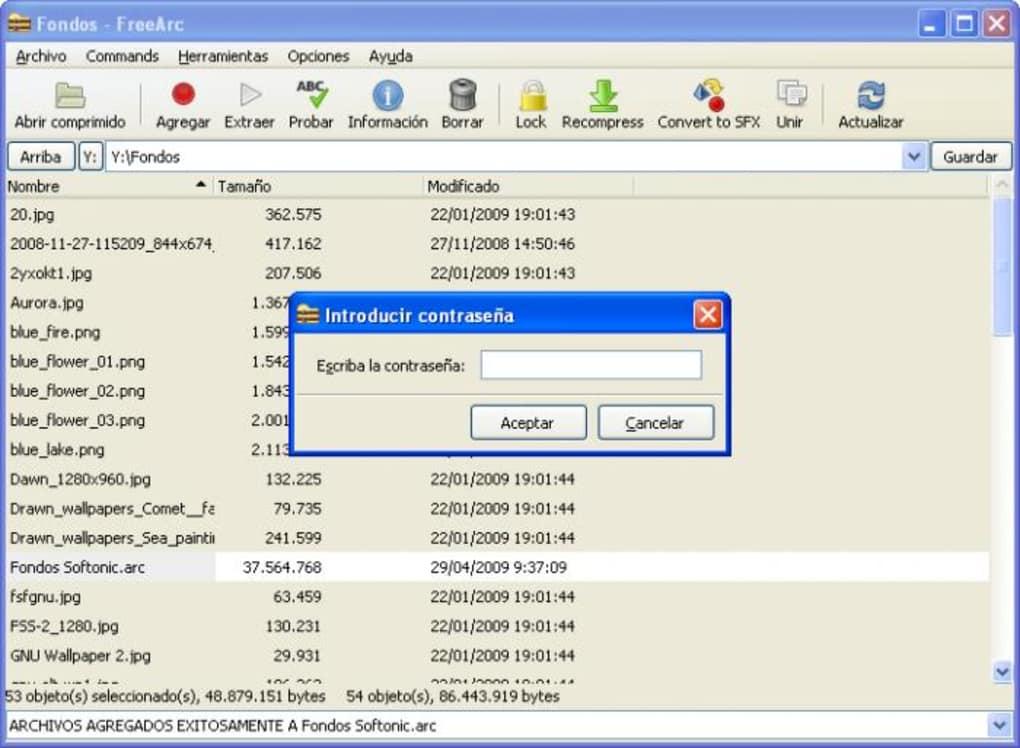 programa para extrair arquivo arc
