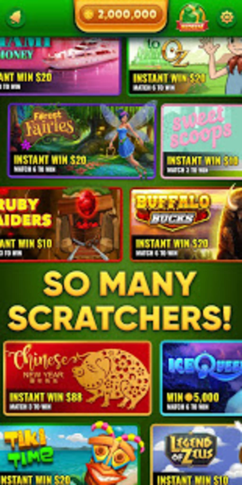 Lucky Scratch WIN REAL MONEY- its your LUCKY DAY for Android - Download