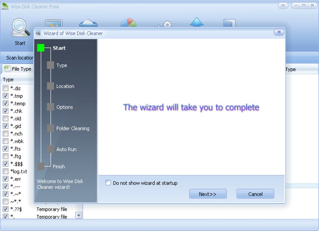 wise disk cleaner 365