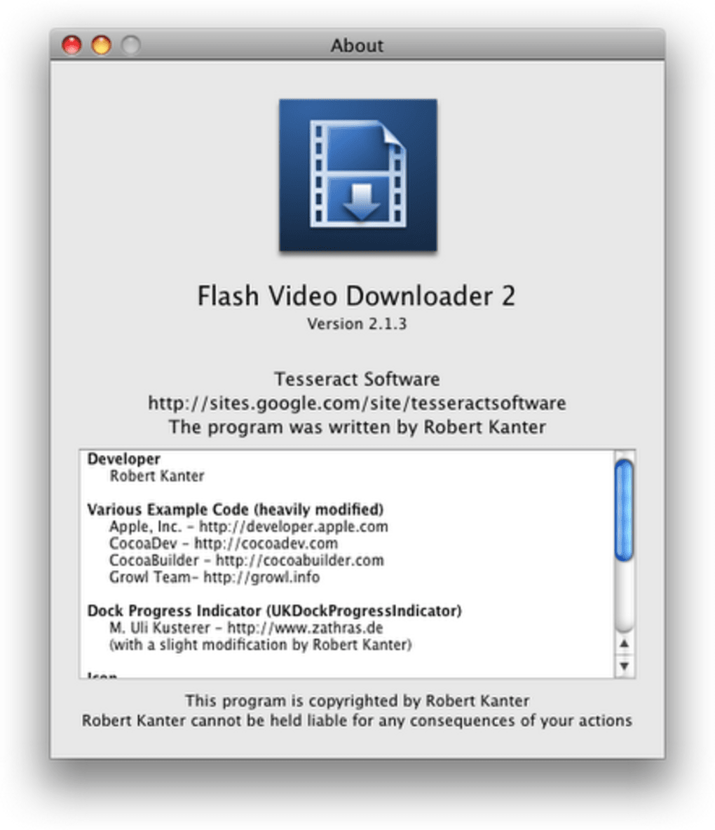 flash and video download