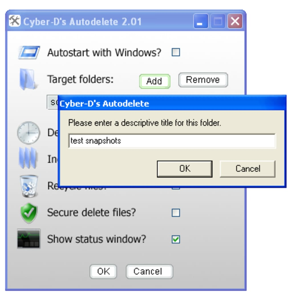 Cyber-D's AutoDelete