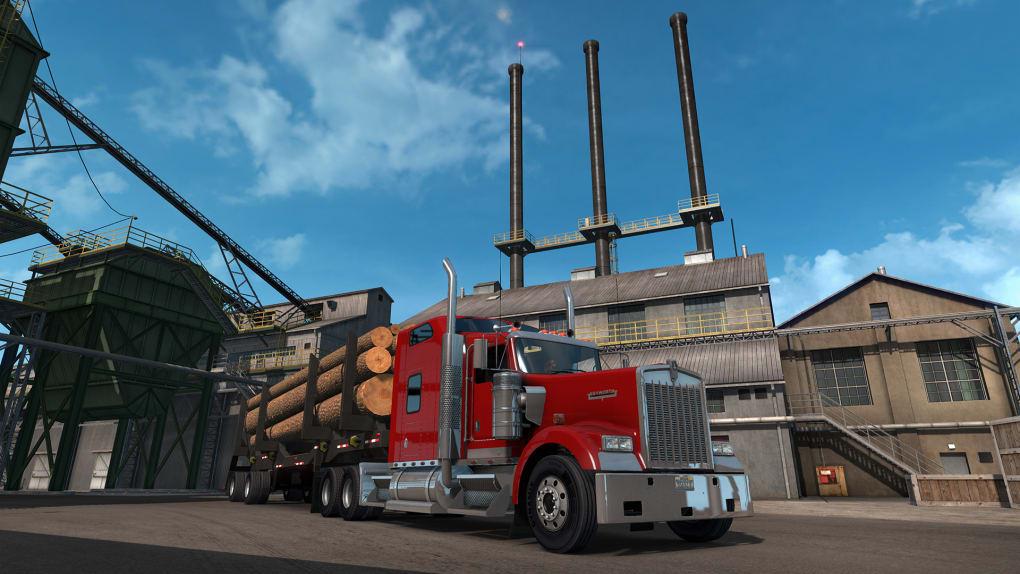 American truck simulator free play