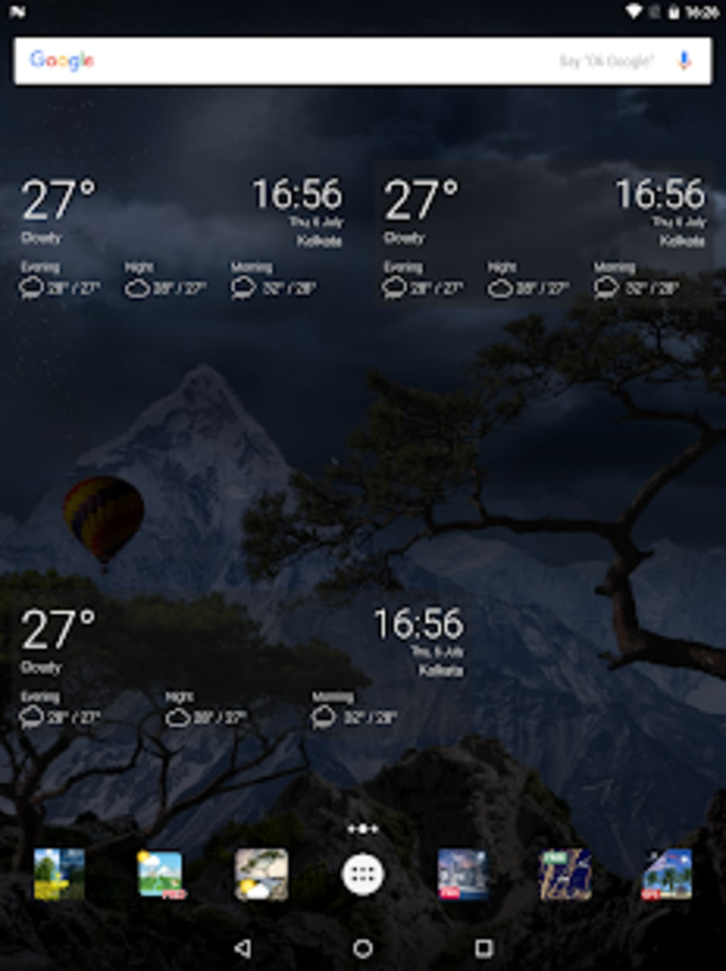 ... Realistic Weather All Seasons Live Wallpaper ...