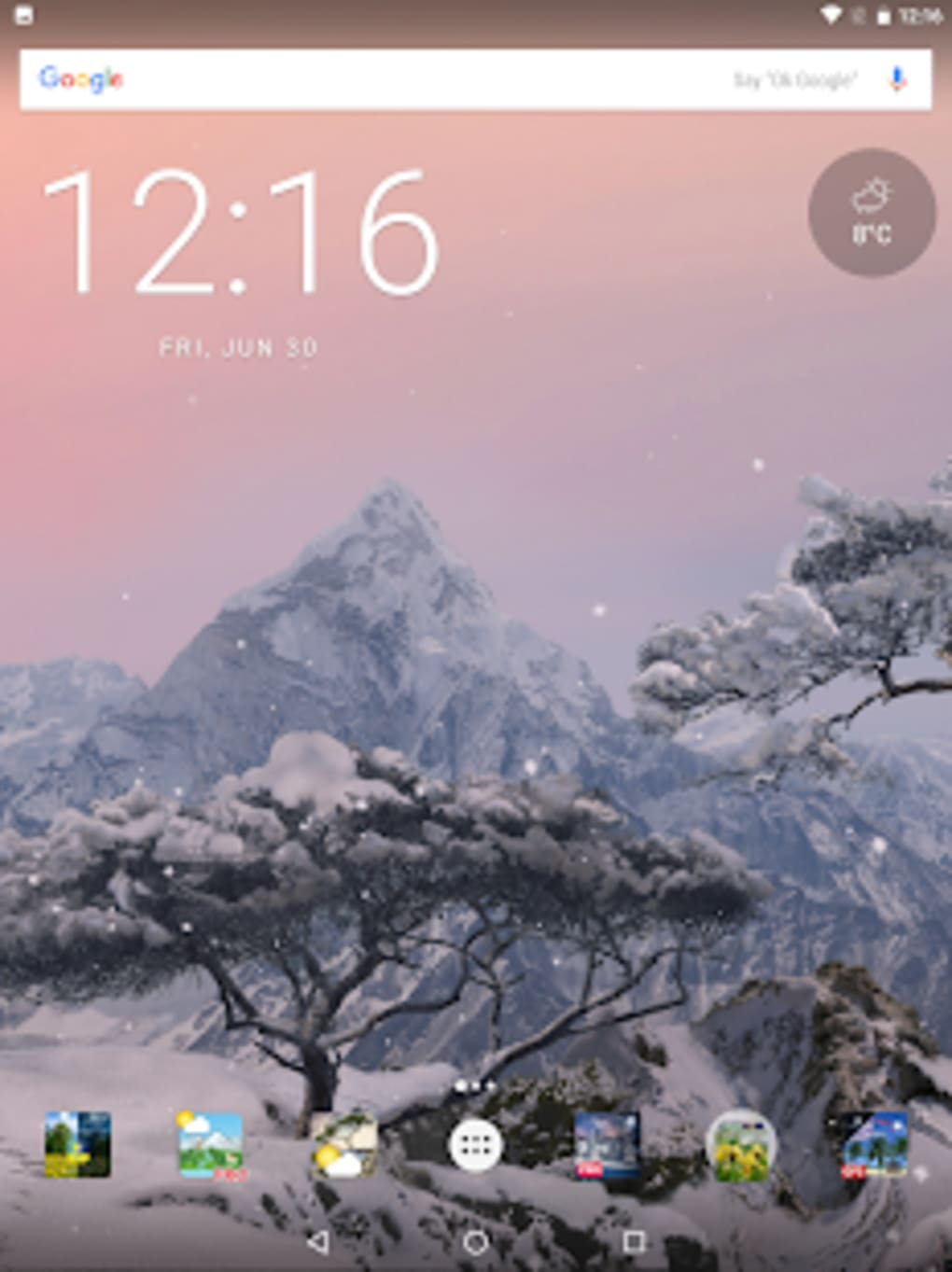 Live Wallpaper Weather Android Pack Wallpapers