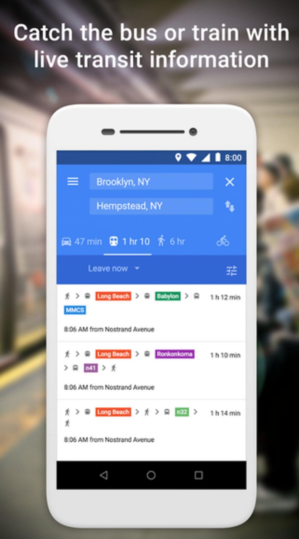 Google Maps Go für Android - Download on