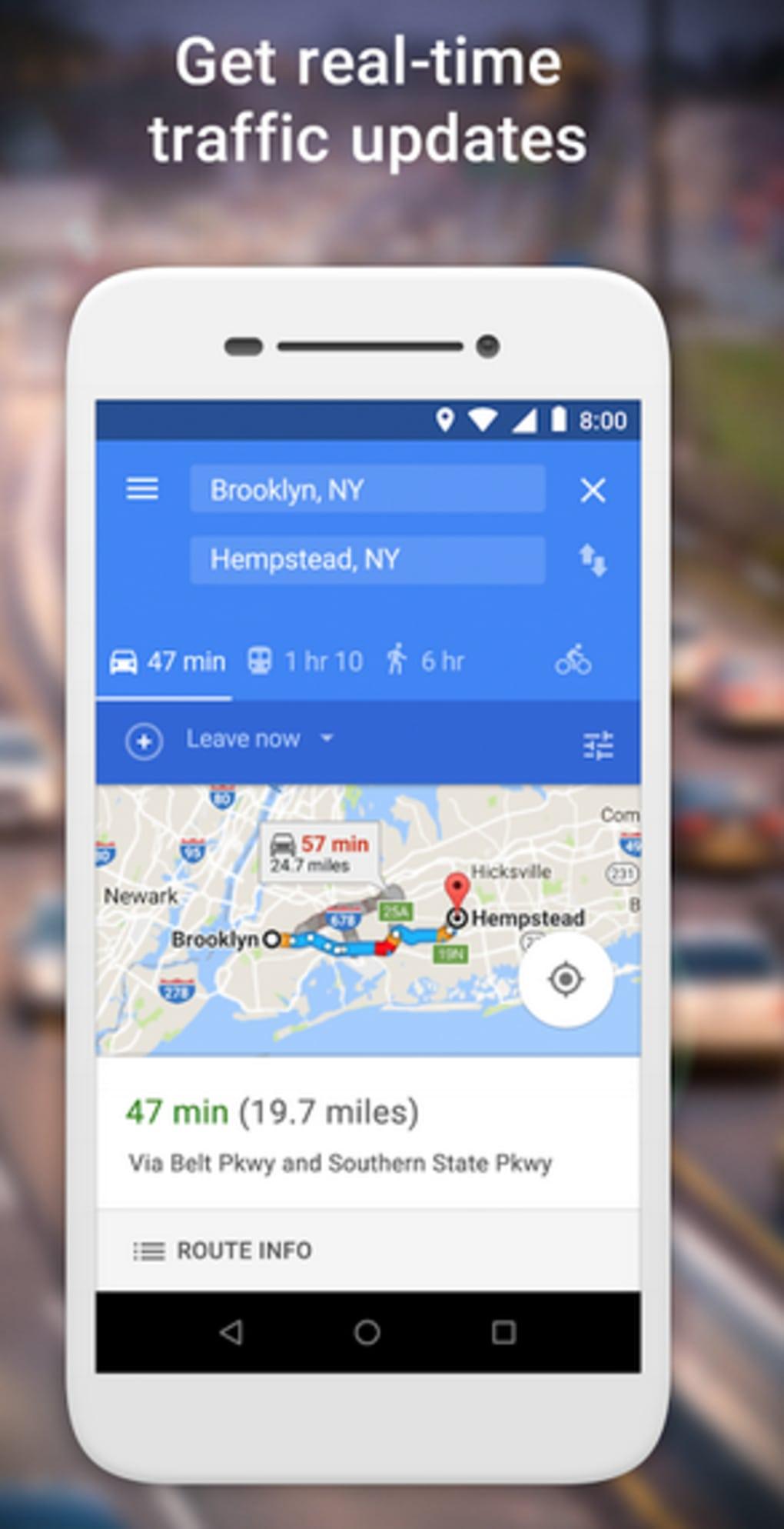 descargar google maps navigation gps gratis para android