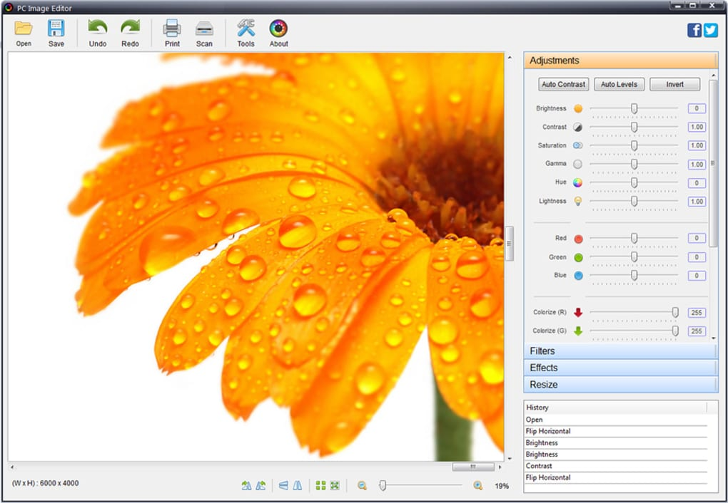 PC Image Editor - Download