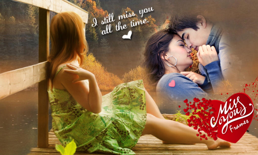 Miss You Photo Frames HD for Android - Download
