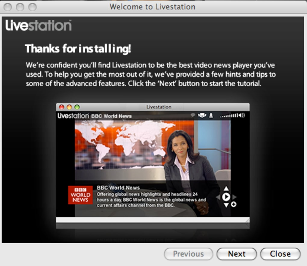 livestation mac