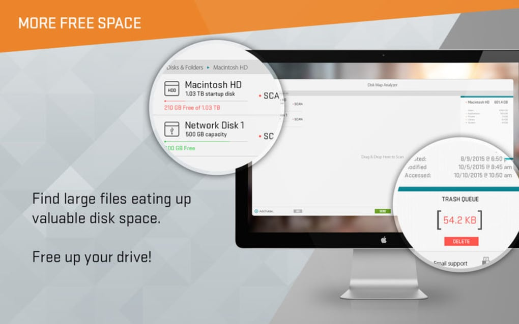 Disk Map yzer - 2 in 1 - Clean Your Hard Drive for Mac - Download Disk Map on