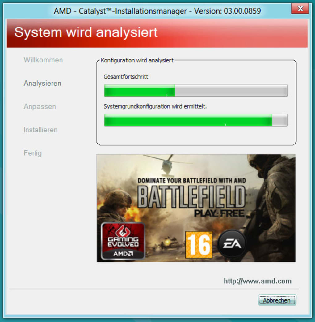 AMD Catalyst Driver Für Windows 10 (Windows)