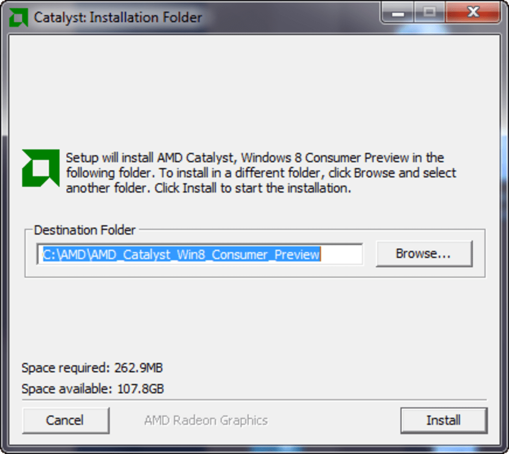 AMD Catalyst Driver for Windows 10 (Windows) - Download