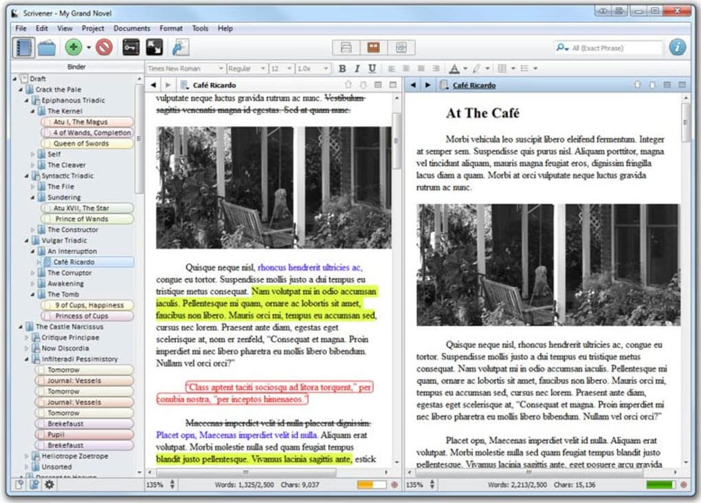 scrivener for windows free trial