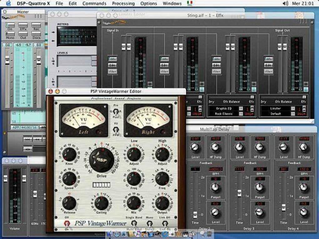 DSP-Quattro für Mac - Download