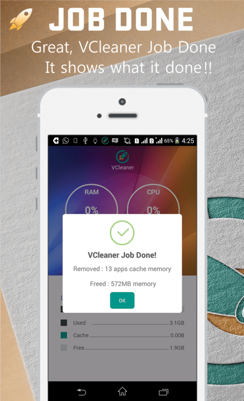 how to clean phone memory android