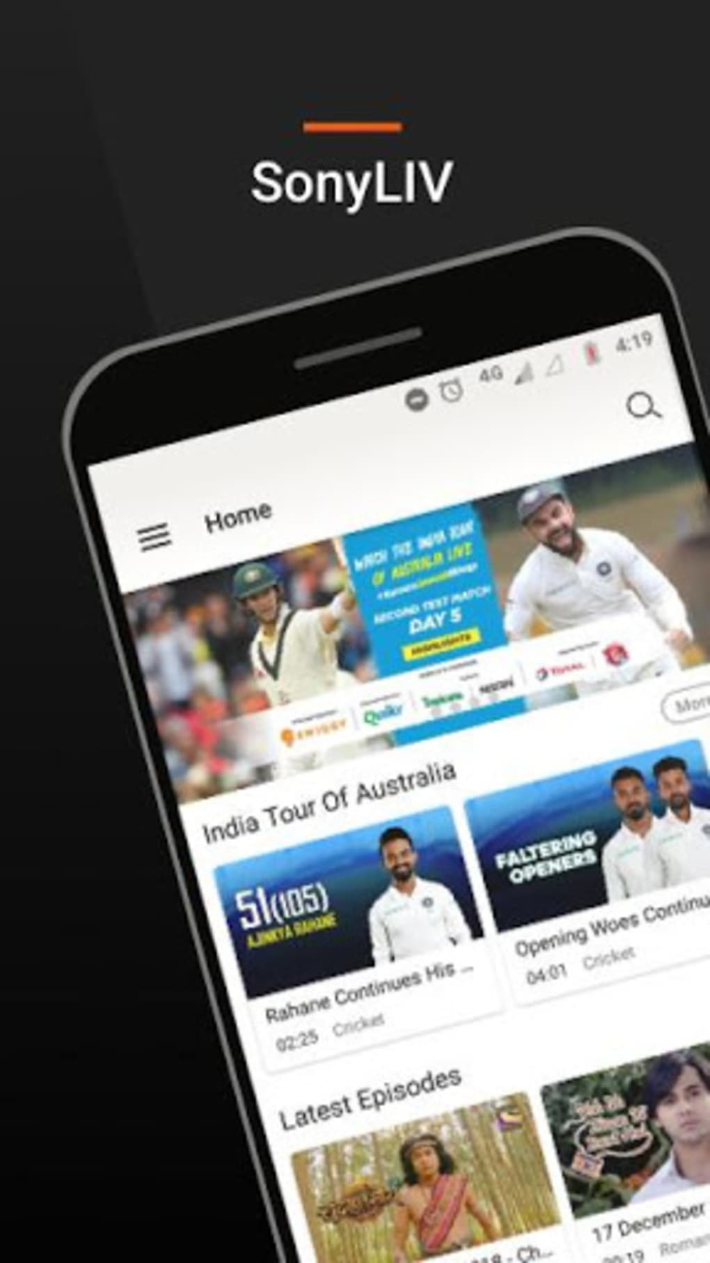 SonyLIV:TV Shows Movies Sports for Android - Download