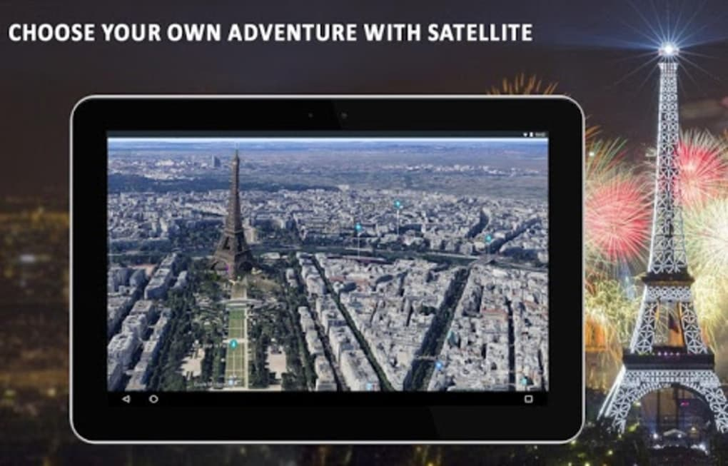 Live Earth Map 2018 Satellite View GPS Tracker For Android
