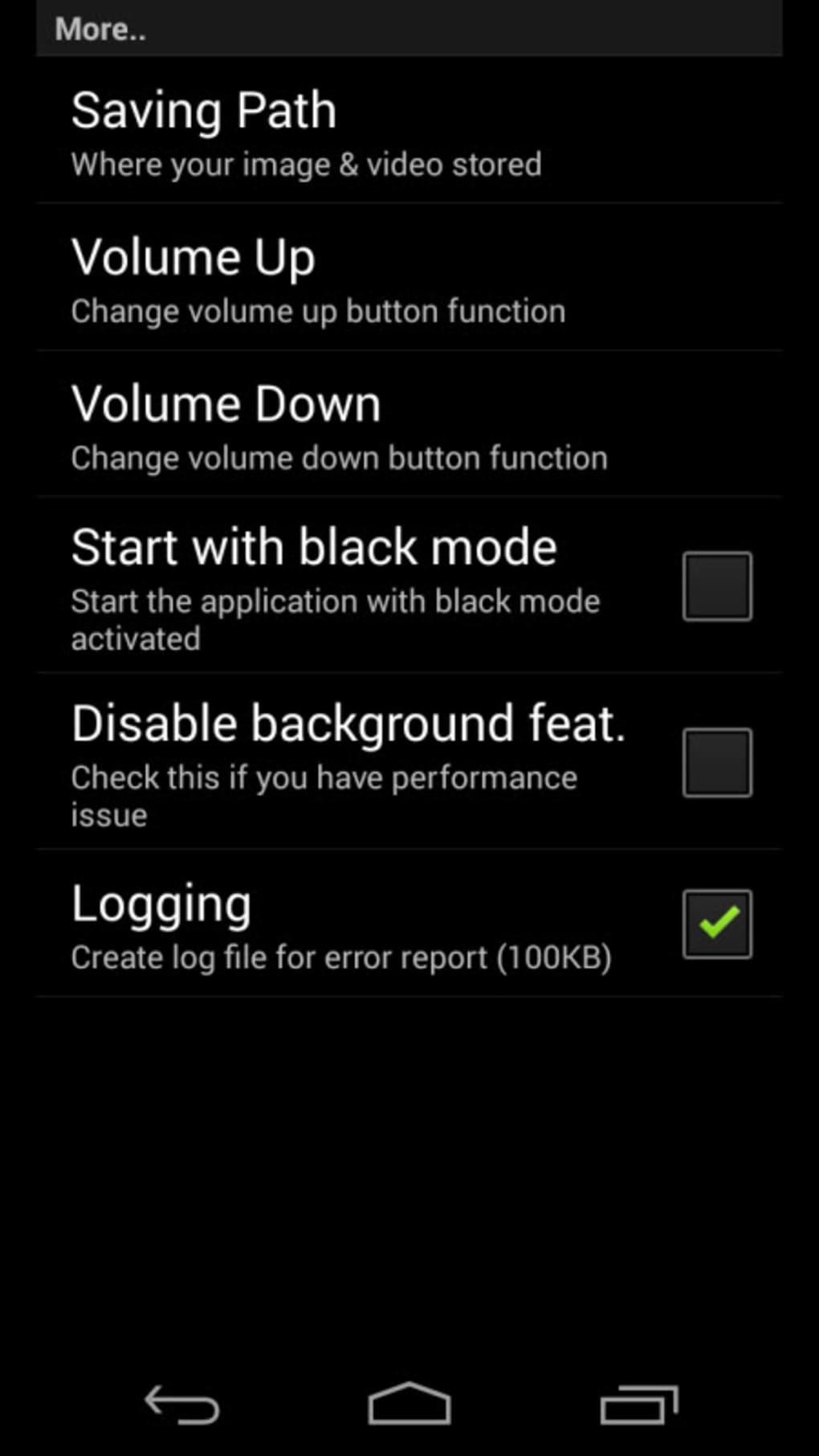 Spy Camera PRO لنظام Android - تنزيل