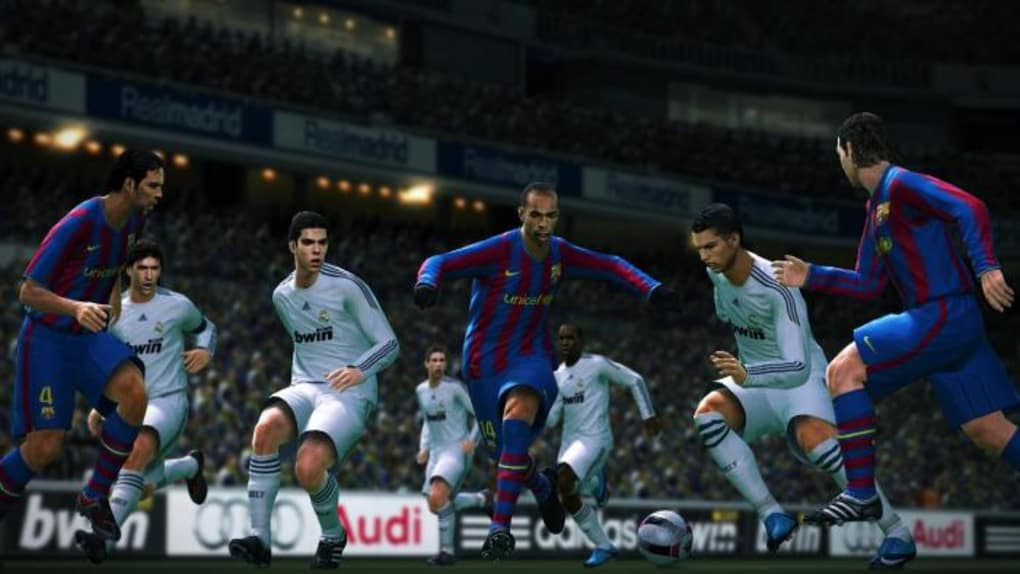 la demo jouable de pes 2010