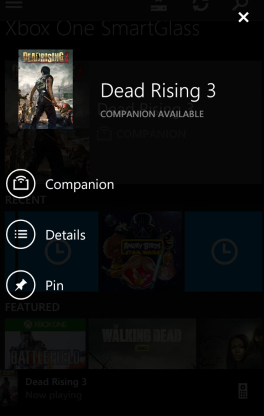 Xbox One SmartGlass for Android - Download