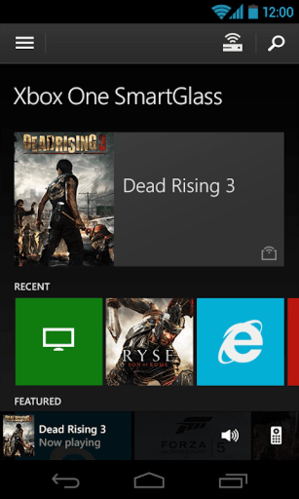 Télécharger Xbox One SmartGlass pour Windows Phone - 01net ...