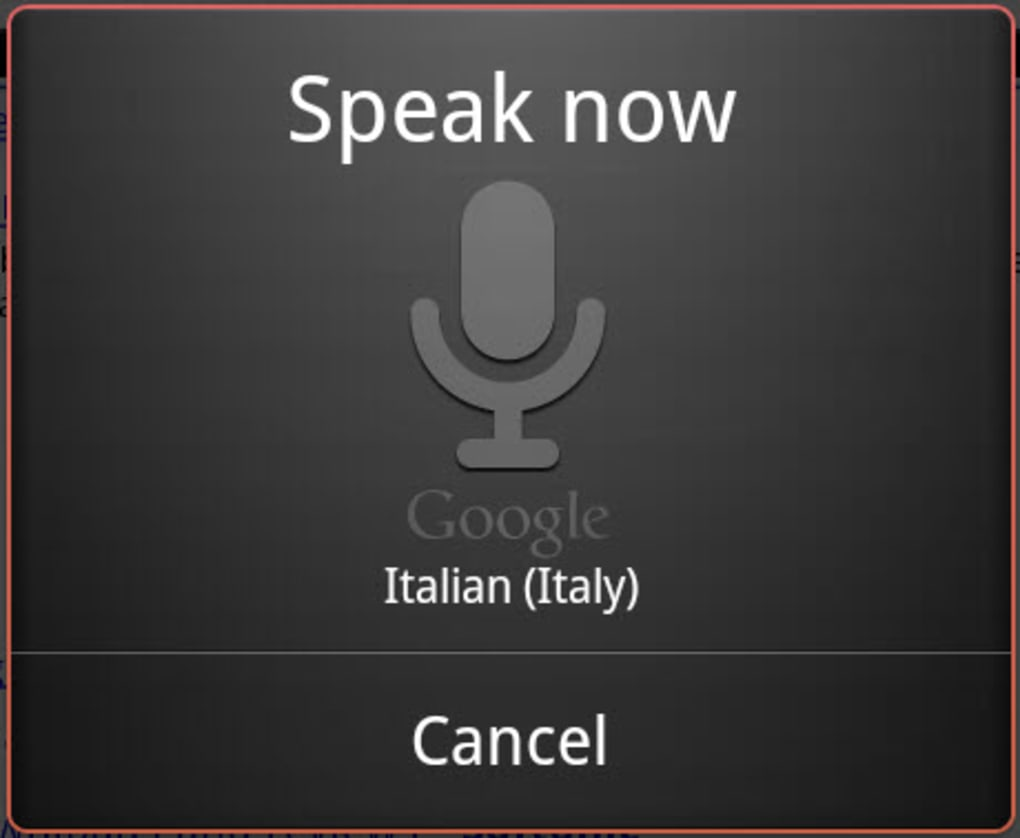 Scarica ricerca vocale google