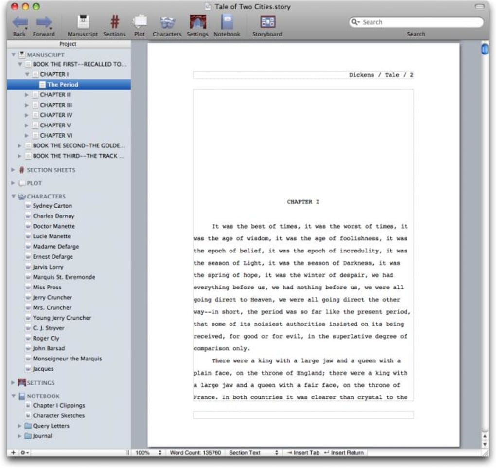 storyist for mac free download