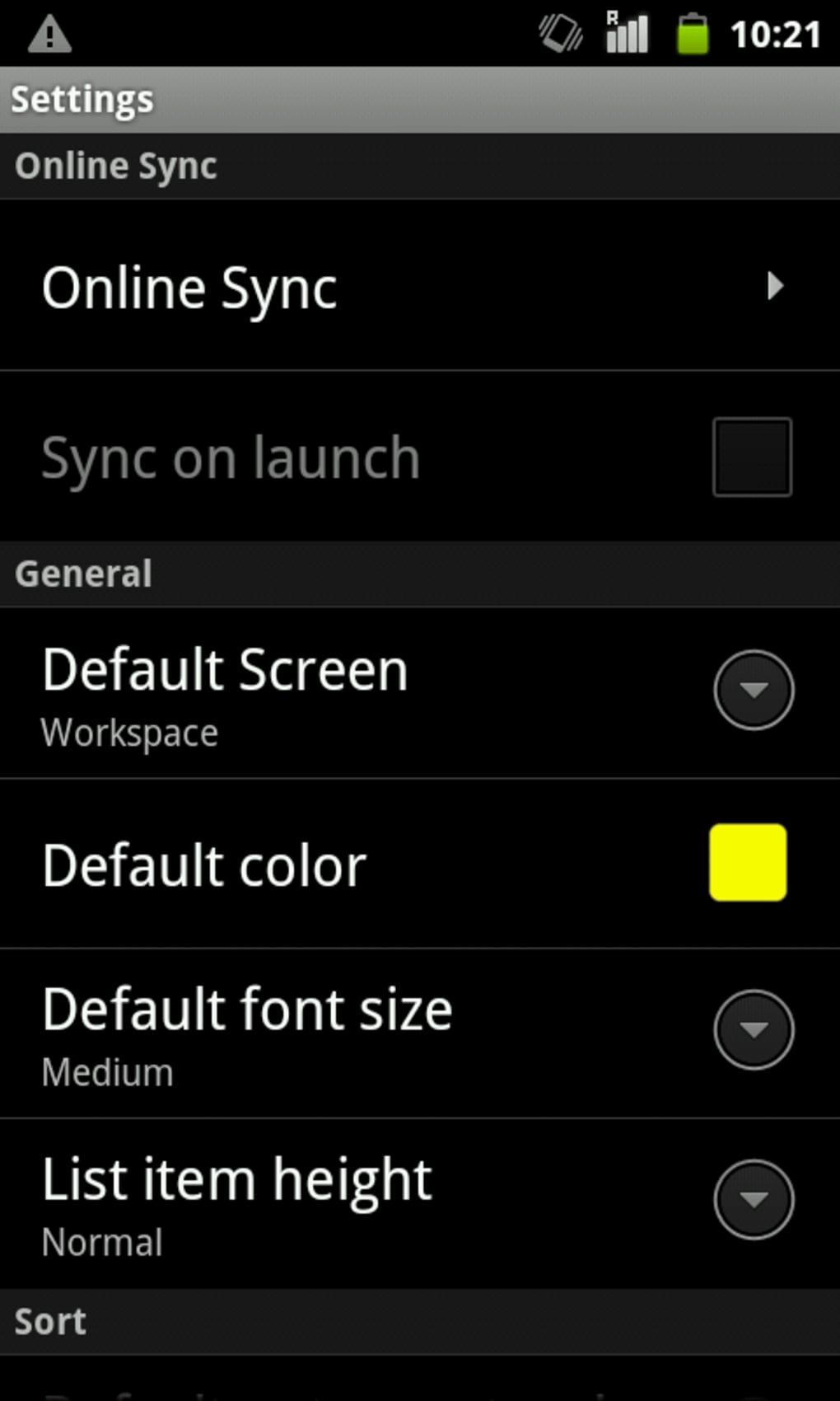 colornote bloc notes pour android t l charger. Black Bedroom Furniture Sets. Home Design Ideas