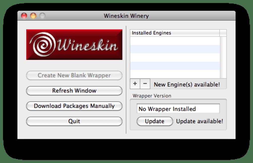 Wineskin App Mac