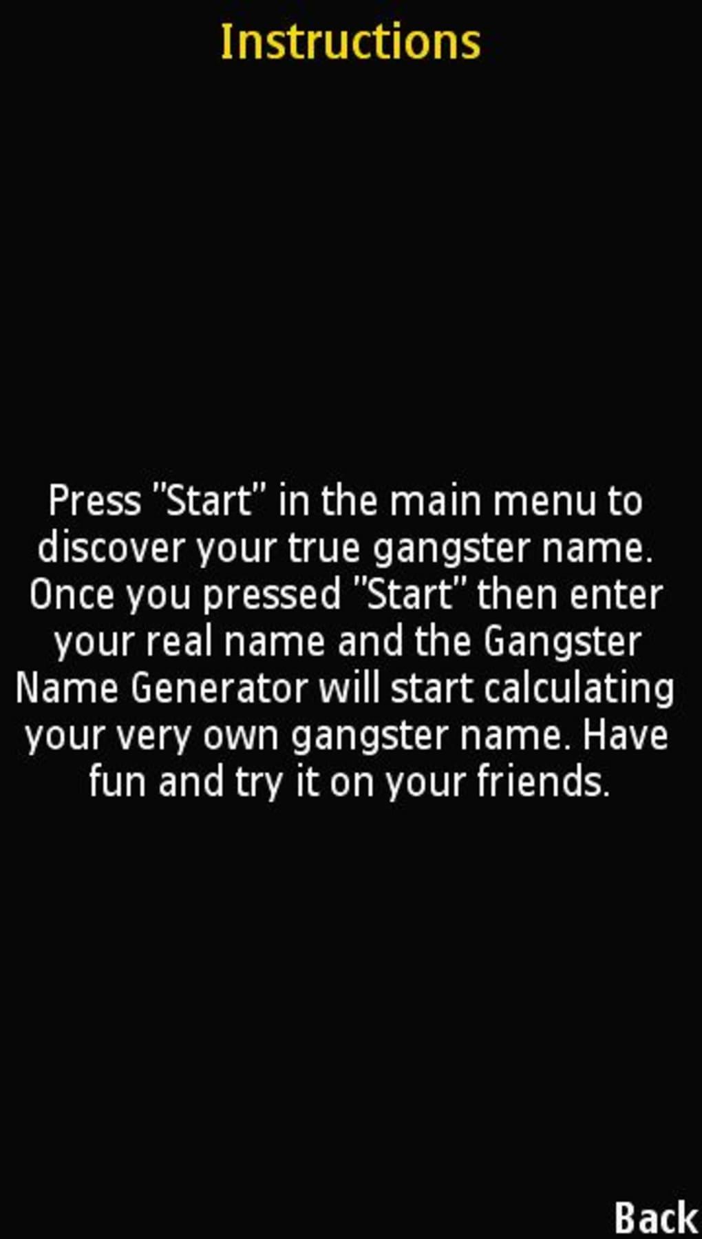 Thug name generator