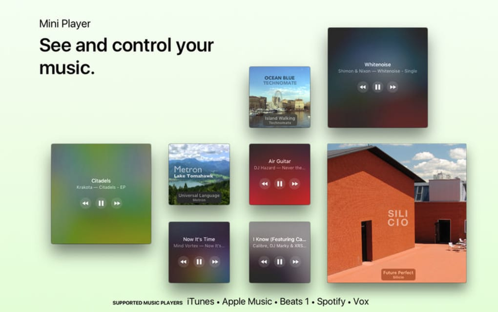 Silicio for Spotify and iTunes for Mac - Download