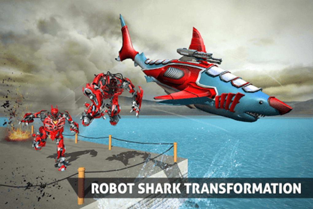 Real Robot Shark Game  Transforming Shark Robot