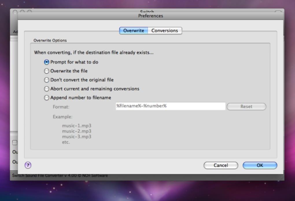 Switch audio file converter standaloneinstaller. Com.