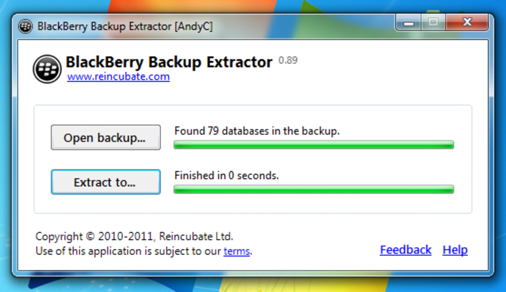 blackberry backup extractor full crack