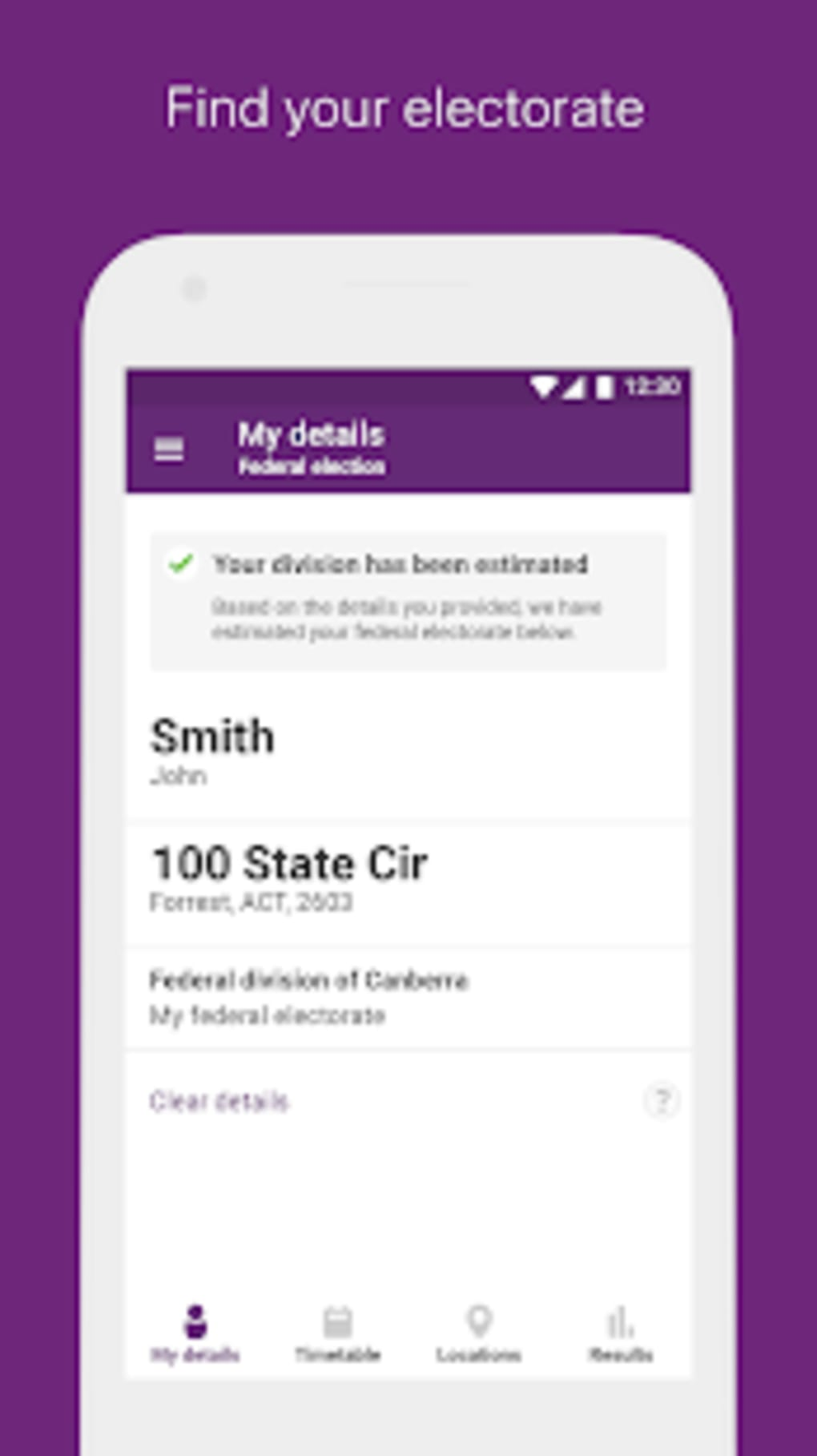 AEC Federal Election App for Android - Download