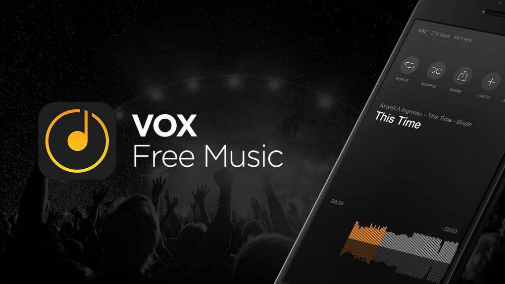 VOX Free Music - MP3 Player & Song Streamer for iPhone - Download